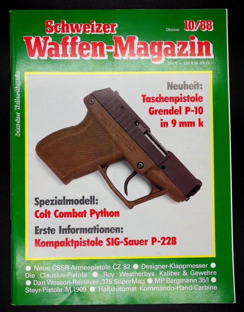 Schweizer Waffenmagazin Ausgabe 10/88 (Heft 61)