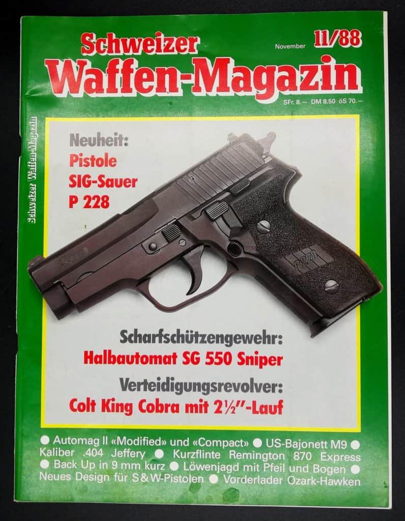 Schweizer Waffenmagazin Ausgabe 11/88 (Heft 62)