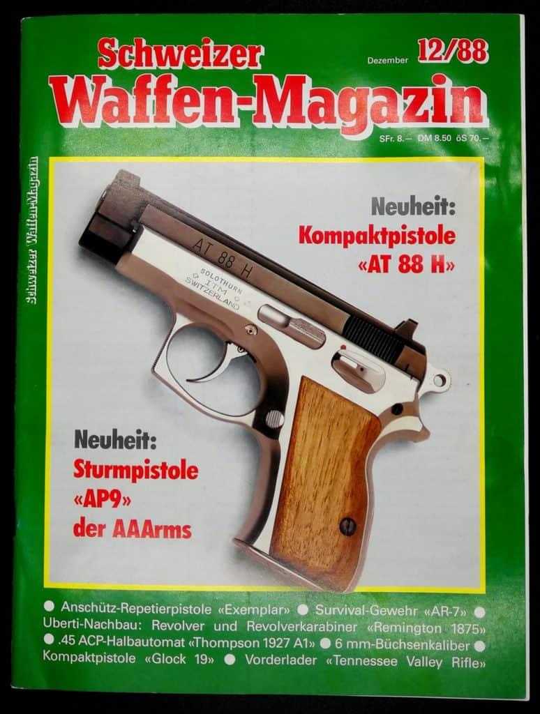 Schweizer Waffenmagazin Ausgabe 12/88 (Heft 63)