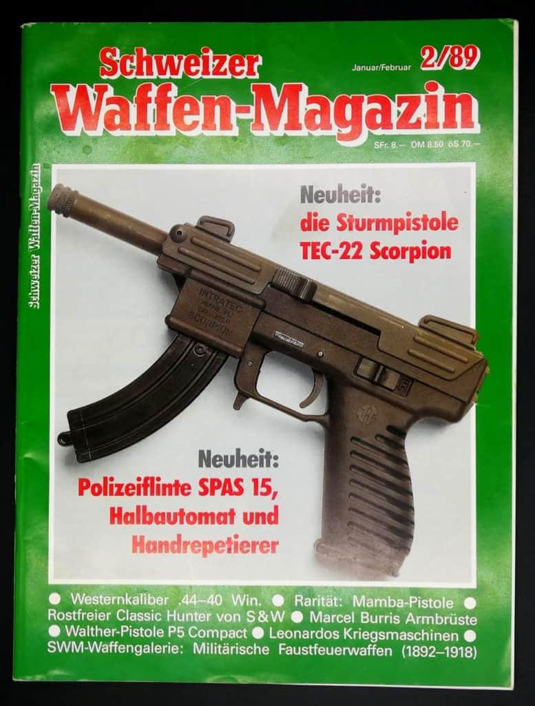 Schweizer Waffenmagazin Ausgabe 2/89 (Heft 64)