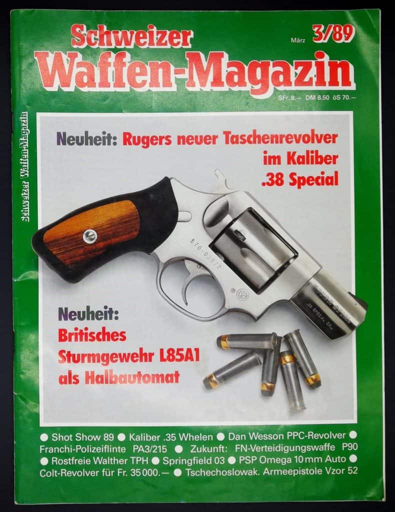 Schweizer Waffenmagazin Ausgabe 3/89 (Heft 65)